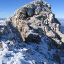 Greben proti vrhu Dolkove špice