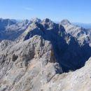 Panorama proti Jalovcu, Prisojniku in Mangrtu