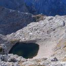 Zgornje Kriško jezero in Pogačnikov dom