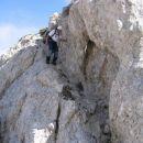Na grebenu nad Zgornjim Kotlom
