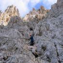 Na začetku plezanja