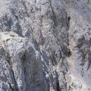 Zgornji del (nad teraso) prehoda iz Martuljka na Grlo; slikano 01.08.2007