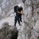 Plezalna pot skozi Turski žleb