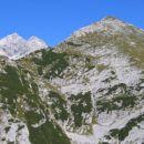 Triglav in Veliki Draški vrh z Ablance