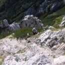 Vzpon s poličke na vrh Ablance