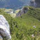 Rušnata goščava na grebenu proti Ablanci
