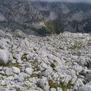 Kraški teren pod grebenom Loške stene