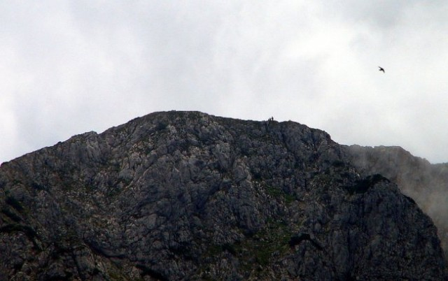 Vrh Raduhe (od Bukovnika)