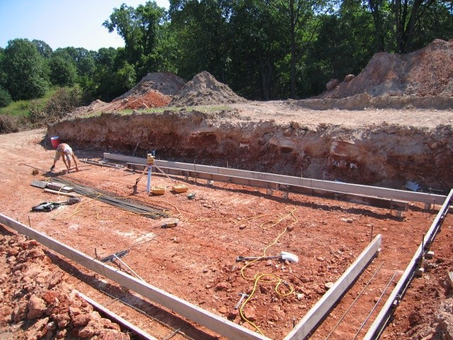 Footings are coming together.....
