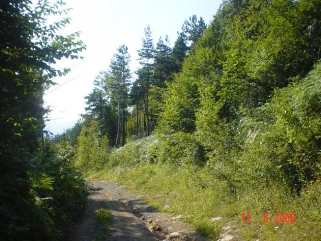Put na brdo Klek iz grada jako brzo autom izacc skoro da uopcce nema posjetitelja .