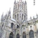 Canterbury cathedral - pogled z notranje strani