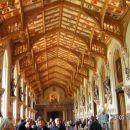 Strop viteške dvorane v Windsorju