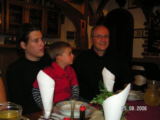 Dragan s Tiborom in sinekom Leonardom