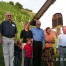 Mešančki Drago s snaho Karin in vnukoma Leonardom in Katharino, Zlatko, Nada in Gojko