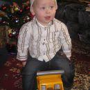 božiček alex na novem tovornjaku