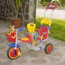 Prodam kolo za dvojčka za starost od 1 do 2 leti. Cena 8000 sit. Zelo lepo ohranjen. Inf.