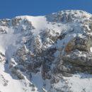 Poglejte, odkod je smučal... z vrha Turske gore...