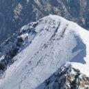 Vrh Mokrice, po vzponu iz Kurje izstopite tu na rob...