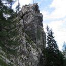 Viharnik na vrhu kot Aljažev stolp...