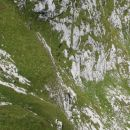 Zelo zahteven prehod - izjemno strme trave!