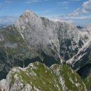 Z vrha Moreža proti Mangrtu ...