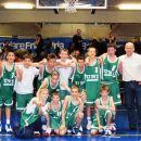 ekipa pionirjev B Union Olimpije v Italiji na turnirju 2004