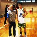 naj košarkar Luzner na turnirju v Italiji 2006/pionirji B Union Olimpija