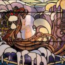 vitraž art nouveau
