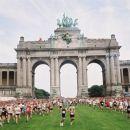 20 km maraton v parku Cinquantenaire