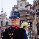 Grand place in belgijska folklora