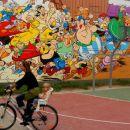 Asterix in kolesarka