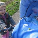 19.11.2006 ... prvič zunaj v vozičku