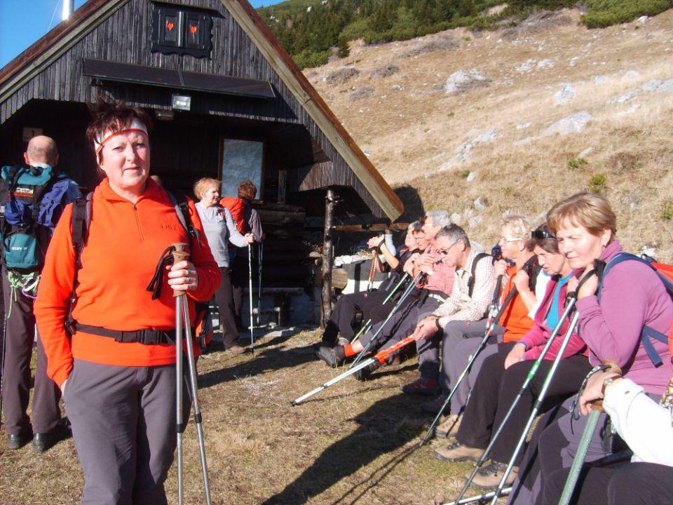 Srednji vrh pod Storžičem 13.11.2011 - foto povečava