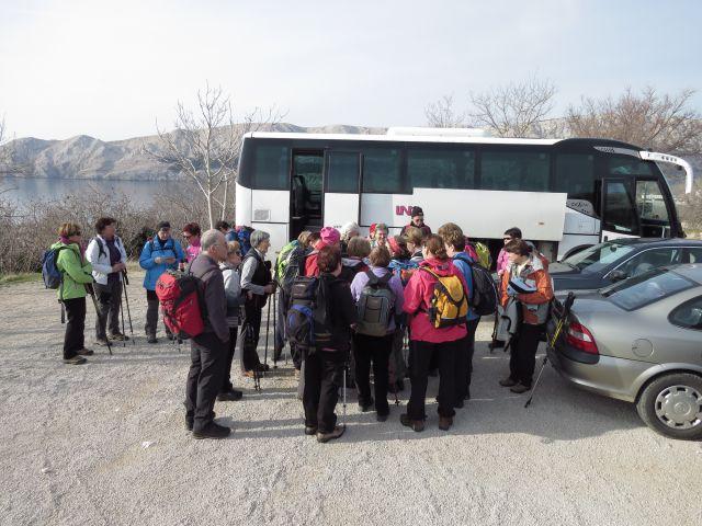 Krk Baška kanjon Vrženica 01.03.2015 - foto