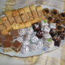 Bicikli, Mađarica, Razpokani piškoti, Minioni, Čokoladni huzarski krapki