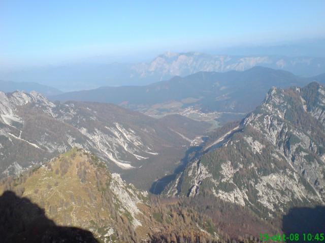 Slemenova špica pa dolina Tamarja