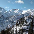 v ozadju vrhovi nad dolino triglavskih jezer