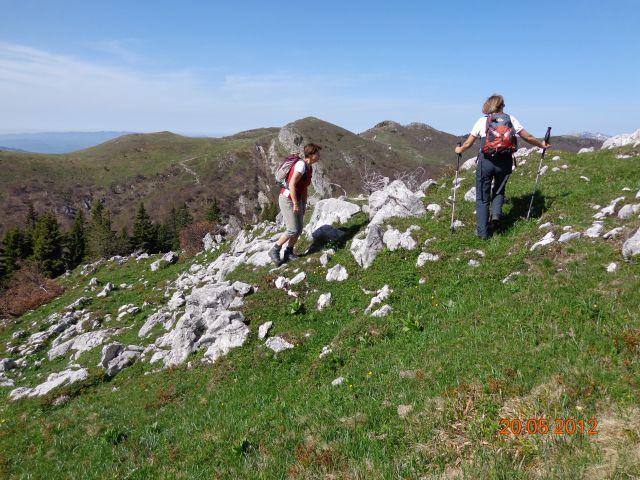 Kosmati vrh in Gladki vrh 20.05.2012 - foto