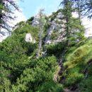 pokaže se vrh Kamniškega dedca