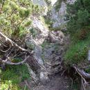grapa proti vrhu