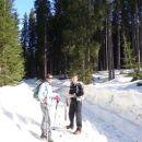 na poti proti planini Javornik