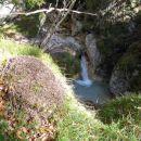 Mlinarica je polna kanjonov in slapov