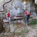 pred črno jamo - Grotte Nero