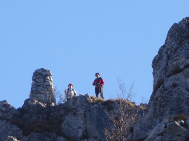 Glinščica, Comicijev greben, 27.12.2018 - foto