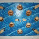 morje z školjkami