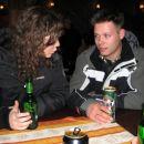 Laura & Kordiš na tradiconalni rudarski pijači ... Sprite and CocaCola =)