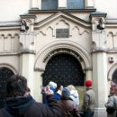 vhod v novo sinagogo, vstopnina 2zł