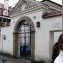 Židovska sinagoga, desno spodaj vodička Mateja.