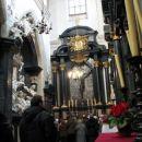 šenkrat oltar, kjer je ponavadi molila Jadviga