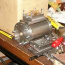 Cilinder z preizkusno nameščenim razvodnikom za razvod pare. 2006.